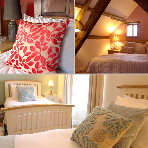 Rooms at the Kings Arms, Abergavenny